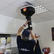 TAB Techniker Luftmengenmessung Testo