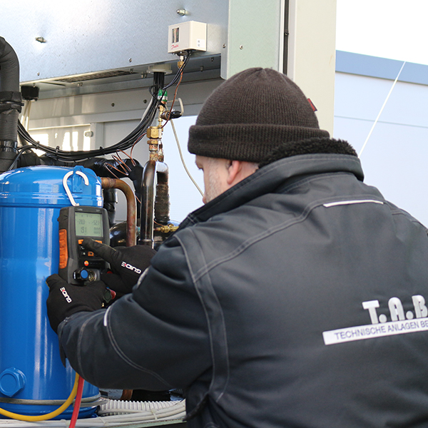 Reparatur Instandhaltung TAB Gruber Kälte klima